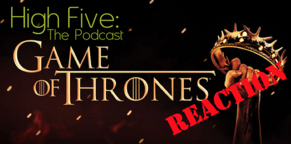 High Five Game of Throne Reaction